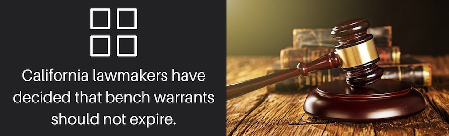 Do Warrants Expire (In The State Of California)?